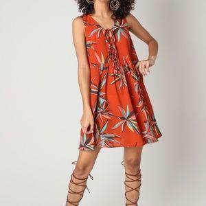 Dresses & Skirts - DRAWSTRINGS DRESS-SHORT DRESS